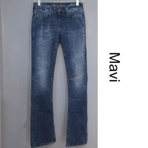 Mavi Leigh Slim Boot Cut Jeans Size 25